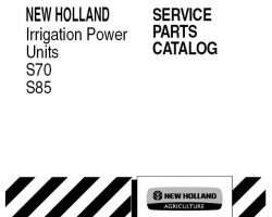 Parts Catalog for New Holland Engines model S70