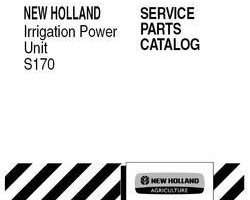 Parts Catalog for New Holland Engines model S170