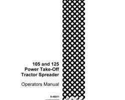 Operator's Manual for Case IH Tractors model 105