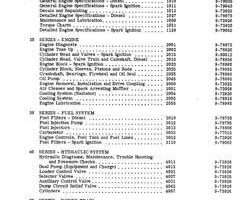 Service Manual for Case IH Skid steers / compact track loaders model 1845