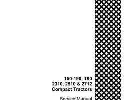 Service Manual for Case IH Tractors model 2510