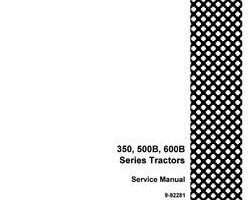 Service Manual for Case IH Tractors model 500B