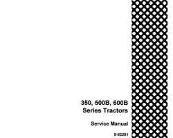 Service Manual for Case IH Tractors model 350