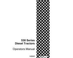 Operator's Manual for Case IH Tractors model 530