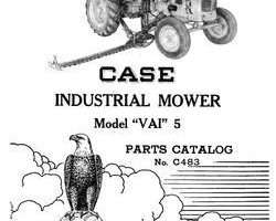 Parts Catalog for Case IH Tractors model VAI 5