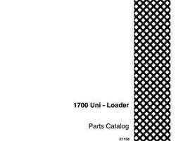 Parts Catalog for Case IH Skid steers / compact track loaders model 1700