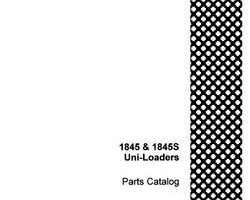 Parts Catalog for Case IH Skid steers / compact track loaders model 1845