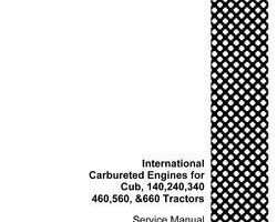 Service Manual for Case IH Tractor model 140