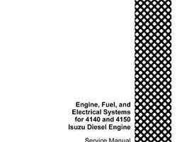 Service Manual for Case IH TRACTORS model 4140
