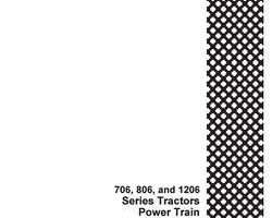 Service Manual for Case IH Tractors model 756