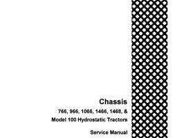 Service Manual for Case IH Tractors model 766