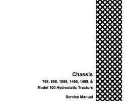 Service Manual for Case IH Tractors model 1466