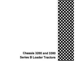Service Manual for Case IH Tractors model 3200