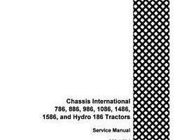 Service Manual for Case IH Tractors model 886