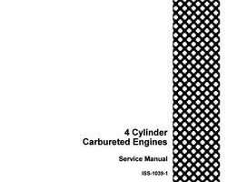 Service Manual for Case IH Tractors model 400