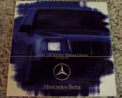 1992 Mercedes Benz 400E 124 Chassis Service & Electrical Manual CD