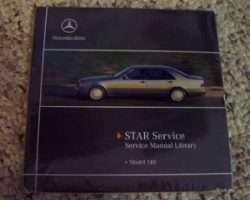 1993 Mercedes Benz 400SE & 400SEL 140 Chassis Service, Electrical & Owner's Manual CD