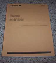 Parts Manual for Caterpillar Forest Products model Tk722 Track Feller Buncher