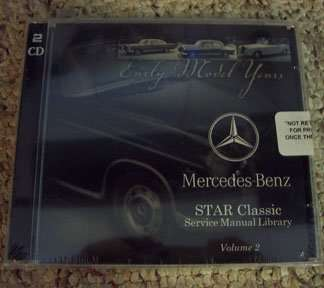 1971 Mercedes Benz 280SE 111 Chassis Service, Electrical & Owner's Manual CD