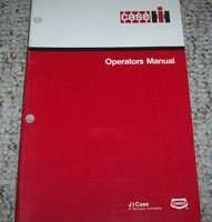 Operator's Manual for Case IH Tractors model 1700