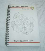 2004 Detroit Diesel 40E Series Engines Operator's Manual