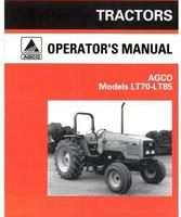 AGCO 1857363M2 Operator Manual - LT70 / LT85 Tractor (footstep)