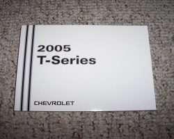 2005 Chevrolet T6500 T-Series Truck Owners Manual