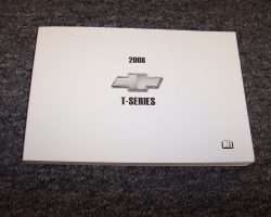 2008 Chevrolet T8500 T-Series Truck Owners Manual