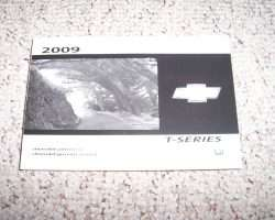 2009 Chevrolet T8500 T-Series Truck Owners Manual