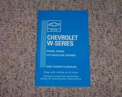 2009 Chevrolet W4500 Gas Truck Owner's Manual