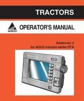 AGCO 4315253M1 Operator Manual - DT180A / DT200A / DT220A / DT240A Tractor Datatronic 3 (suppl.)