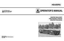 AGCO 700719943A Operator Manual - 5000 Draper Header (used with 220 windrower, series 2)