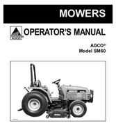 AGCO 79019019 Operator Manual - SM60 Mid-Mount Mower