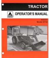 AGCO 79021929 Operator Manual - ST32 Compact Tractor (std trans)