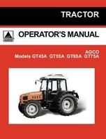 AGCO 79024293B Operator Manual - GT45A / GT55A / GT65A / GT75A Tractor (tier 2)
