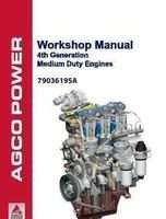 Ag-Chem 79036195A Service Manual - 33 / 44 Sisu Engine (4th gen., med. duty, workshop) (packet)