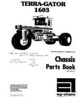 Ag-Chem AG005412 Parts Book - 1603 TerraGator (chassis, 1980)