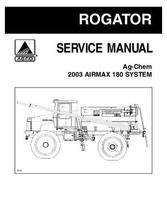 Ag-Chem AG727570 Service Manual - 180 Air Max RoGator (system, eff 2003 to 2014)
