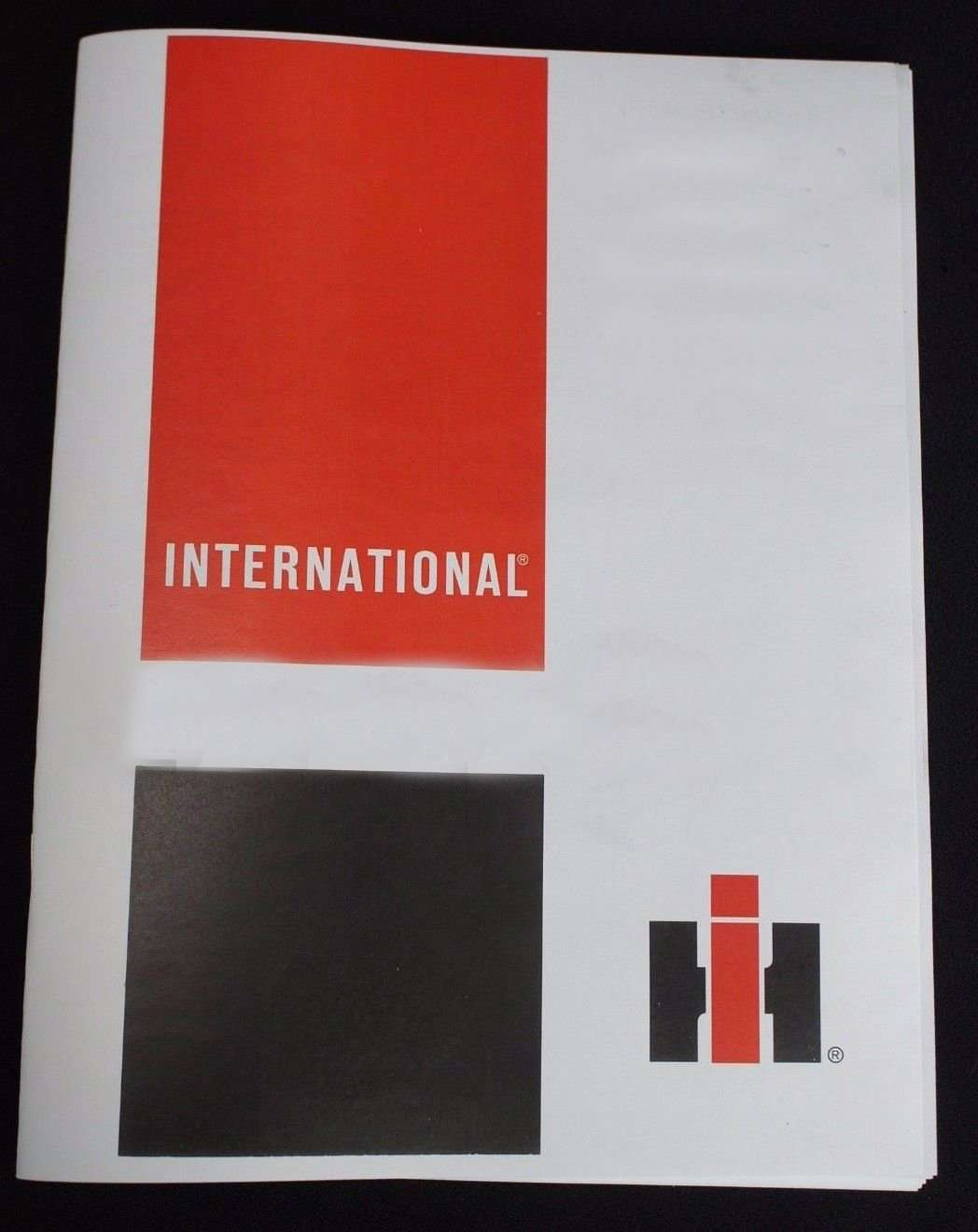 International Harvester Ih 656 Wheel Tractor Service Manual