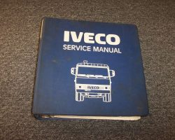1986 Iveco Z240T Truck Service Manual