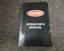 1988 Peterbilt 200 Series Trucks Operators's Manual