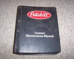 1983 Peterbilt 200 Series Trucks Service Manual