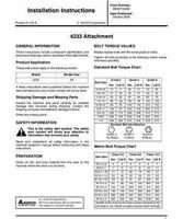 AGCO SN9971004B Operator Manual - 4233 Coulter Chisel Attachments
