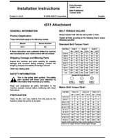 AGCO SN9971141A Operator Manual - 4511 Disc Chisel Attachments