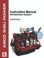 Ag-Chem V837079421 Operator Manual - AGCO Power 33 44 49 66 74 84 98 Engine (4th gen, tier 4i DEF)