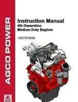 Ag-Chem V837079685 Operator Manual - AGCO Power 33 / 44 Engine (4th generation medium duty)