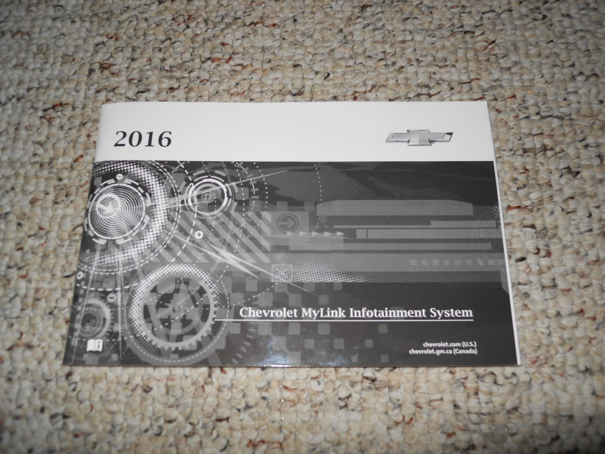 2016 Chevrolet Volt Mylink Infotainment System Manual