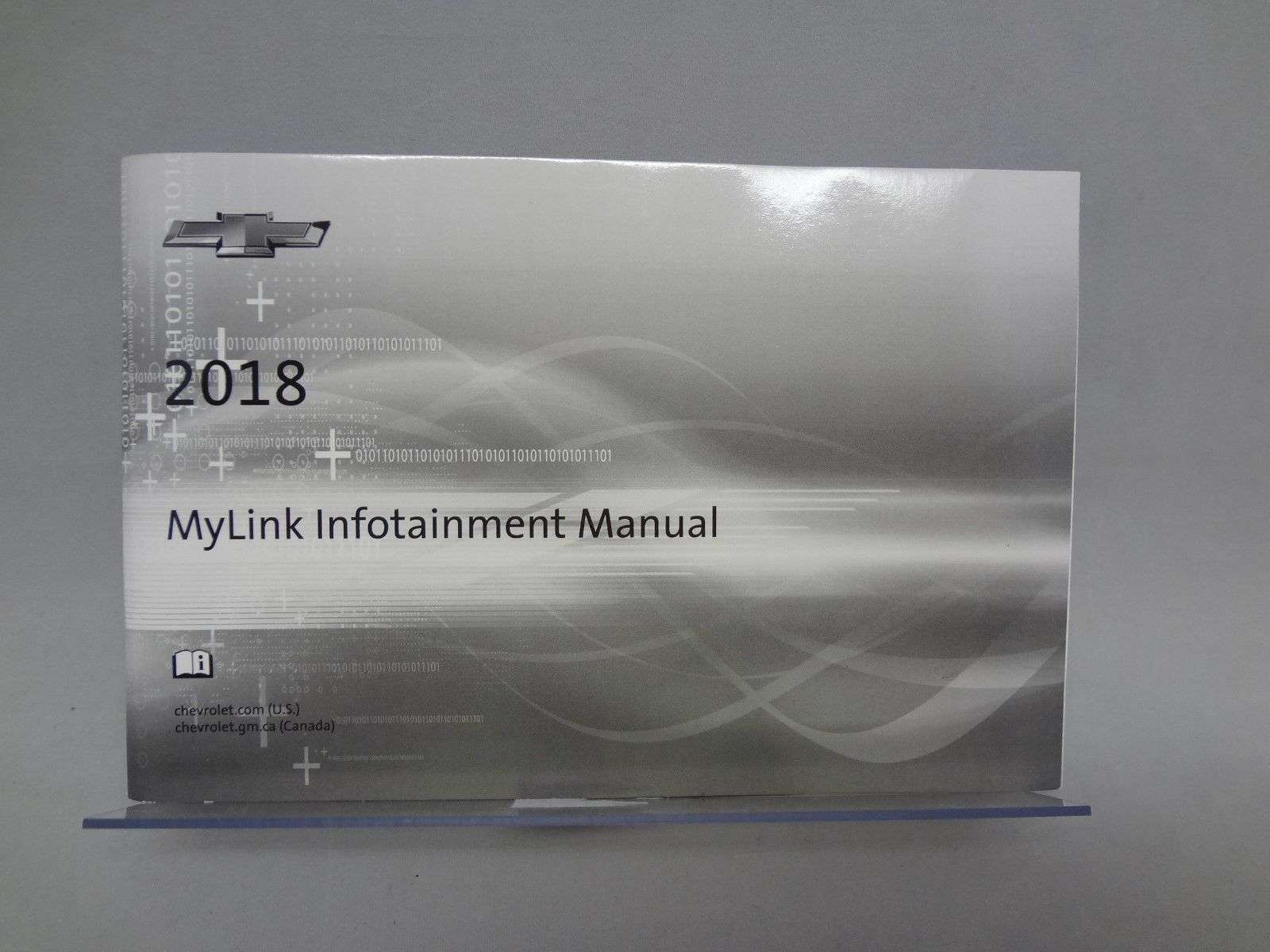 2018 Chevrolet Volt Mylink Infotainment System Manual