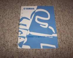 Owner's Service Manual for 1998 Yamaha YZ125K1 Motorcycle