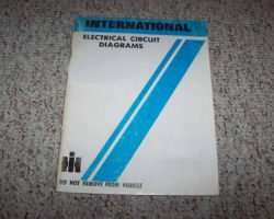 1987 International 400 & 500 Series Trucks Chassis Electrical Wiring Circuit Diagram Manual